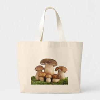Boletus Edulis mushrooms Jumbo Tote Bag