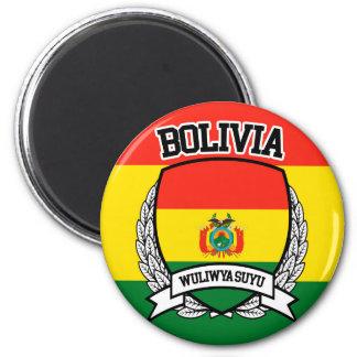 Bolivia 2 Inch Round Magnet