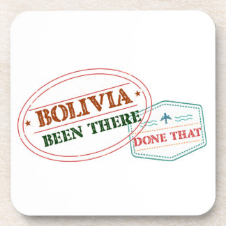 Bolivia Been There Done That Coaster