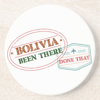 Bolivia Been There Done That Coasters