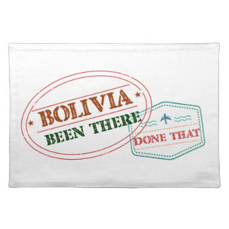 Bolivia Been There Done That Placemat