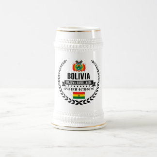 Bolivia Beer Stein