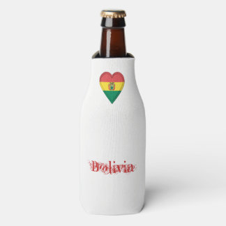 Bolivia Bolivian Flag Bottle Cooler