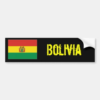 Bolivia bumber sticker bumper sticker