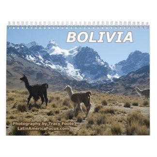 Bolivia Calendar 2018 - Snow Mountain Calendar