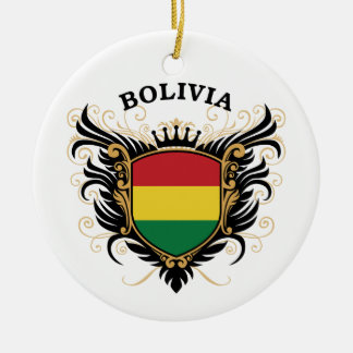 Bolivia Ceramic Ornament