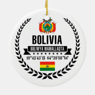Bolivia Ceramic Ornament