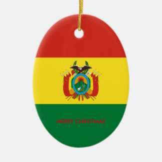 BOLIVIA CERAMIC OVAL ORNAMENT