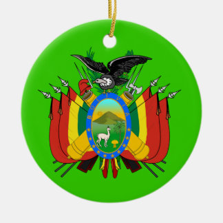 BOLIVIA* Christmas Ornament