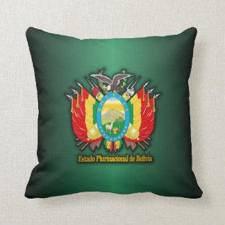Bolivia COA Throw Pillow