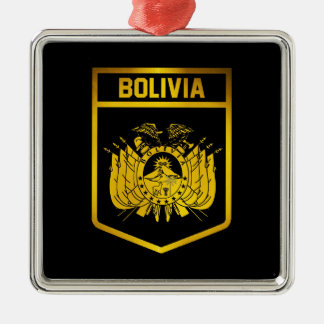 Bolivia Emblem Metal Ornament