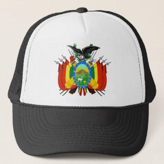 bolivia emblem trucker hat