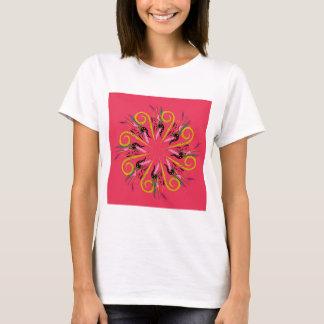 Bolivia ethno Mandala art. Original drawing T-Shirt