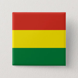 Bolivia Flag 2 Inch Square Button