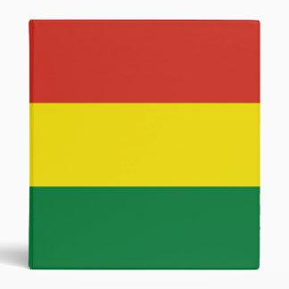 Bolivia Flag 3 Ring Binders