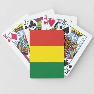 Bolivia Flag Bicycle Playing Cards