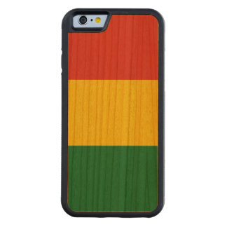 Bolivia Flag Carved Cherry iPhone 6 Bumper Case