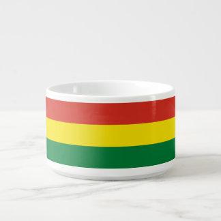 Bolivia Flag Chili Bowl
