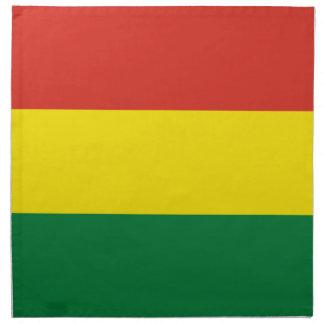 Bolivia Flag Cloth Napkins