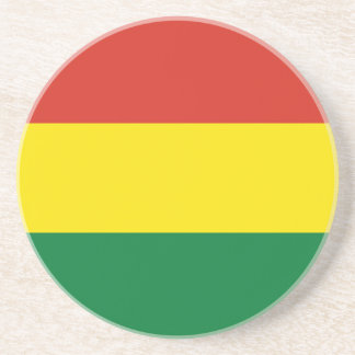 Bolivia Flag Coaster