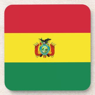 Bolivia Flag Cork Coaster