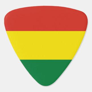 Bolivia Flag Guitar Pick