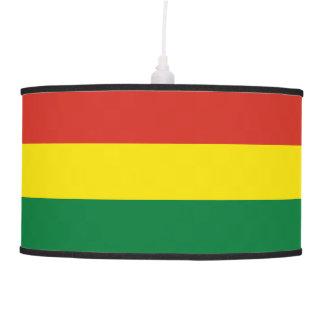 Bolivia Flag Hanging Lamp