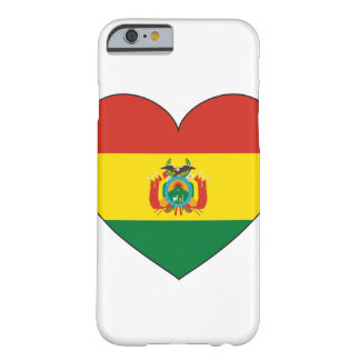 Bolivia Flag Heart Barely There iPhone 6 Case