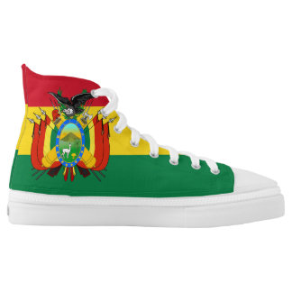 Bolivia Flag High Tops