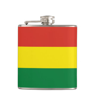 Bolivia Flag Hip Flask