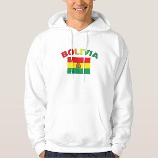 Bolivia Flag Hoodie