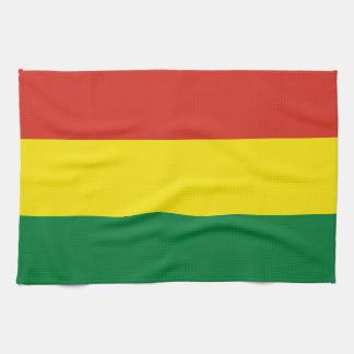 Bolivia Flag Kitchen Towel