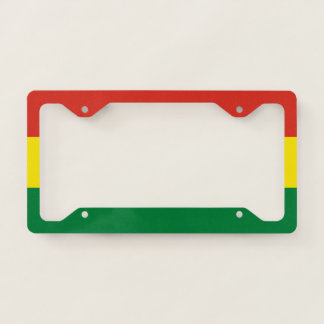 Bolivia Flag License Plate Frame