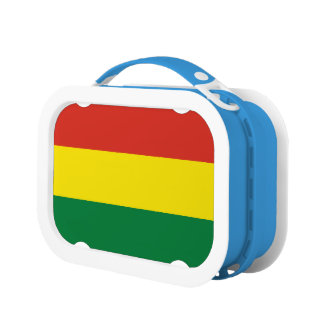 Bolivia Flag Lunchboxes