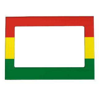 Bolivia Flag Magnetic Picture Frame