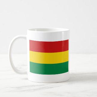 Bolivia Flag ~ Map Mug