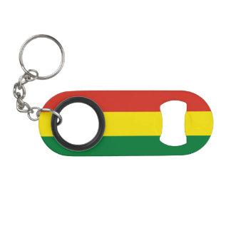 Bolivia Flag Mini Bottle Opener