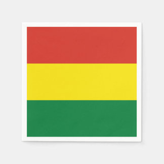 Bolivia Flag Napkin