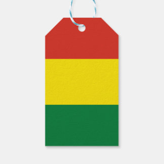 Bolivia Flag Pack Of Gift Tags