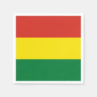 Bolivia Flag Paper Napkins