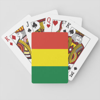 Bolivia Flag Playing Cards