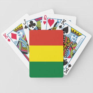 Bolivia Flag Poker Deck