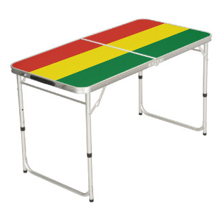 Bolivia Flag Pong Table