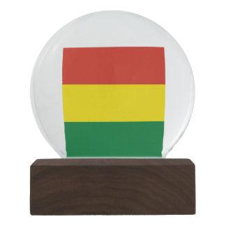 Bolivia Flag Snow Globe