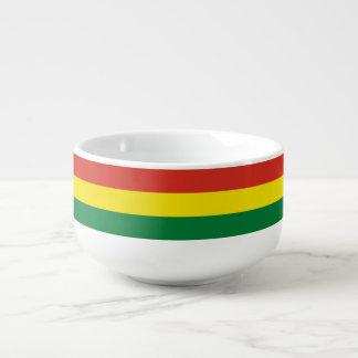 Bolivia Flag Soup Mug