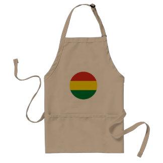 Bolivia Flag Standard Apron
