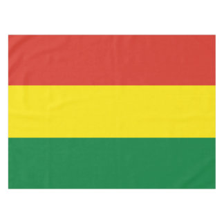 Bolivia Flag Tablecloth