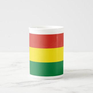 Bolivia Flag Tea Cup