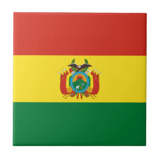 Bolivia Flag Tile