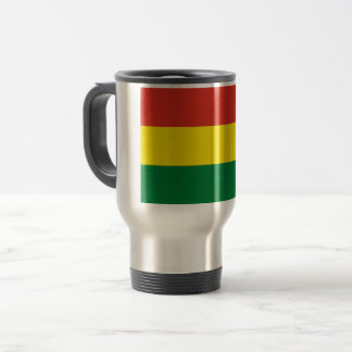 Bolivia Flag Travel Mug